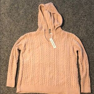 Knitted Sweater Rue & Willow Juniors XS Pink NTW